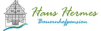Logo der Bauernhofpension Hermes in Kirchhundem / Sauerland