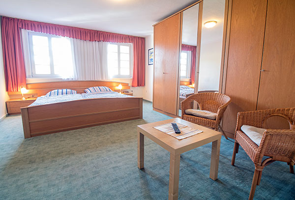 Pensionszimmer Haus Hermes im Sauerland Kirchhundem